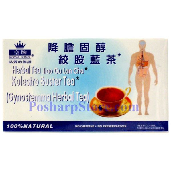 Picture for category Royal King Kolestro Buster Gynostemma Herbal Tea 20 Teabags