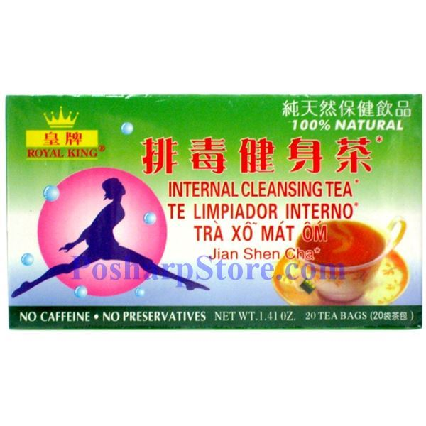 Picture for category Royal King Internal Cleansing Herbal Tea 20 Teabags