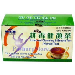 Picture of Royal King Internal Cleansing & Beauty Herbal Tea 20 Teabags