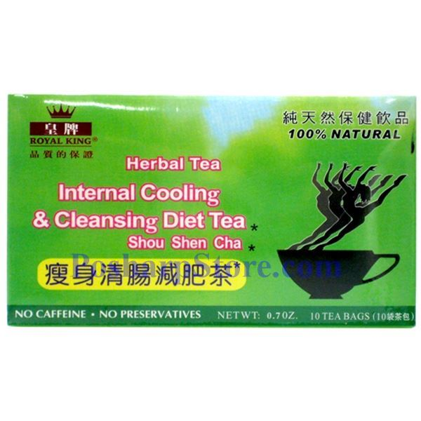 Picture for category Royal King Cooling and Cleansing Diet Herbal Tea 20 Teabags
