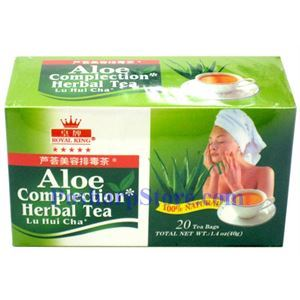 Picture of Royal King Aloe Complection Herbal Tea 20 Teabags