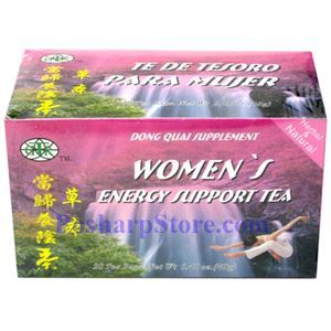 Picture of GTR Women's Energy Support Tea  20 Teabags