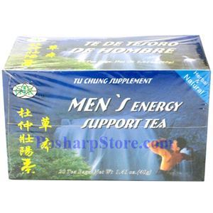 Picture of GTR Men's Energy Tea  20 Teabags