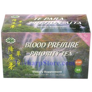 Picture of GTR High Blood Pressure Priority Tea 20 Teabags