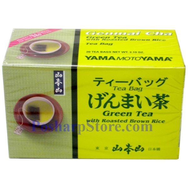 Picture for category Yama Moto Yama Green Tea with Roasted Brown Rice (Genmaicha)