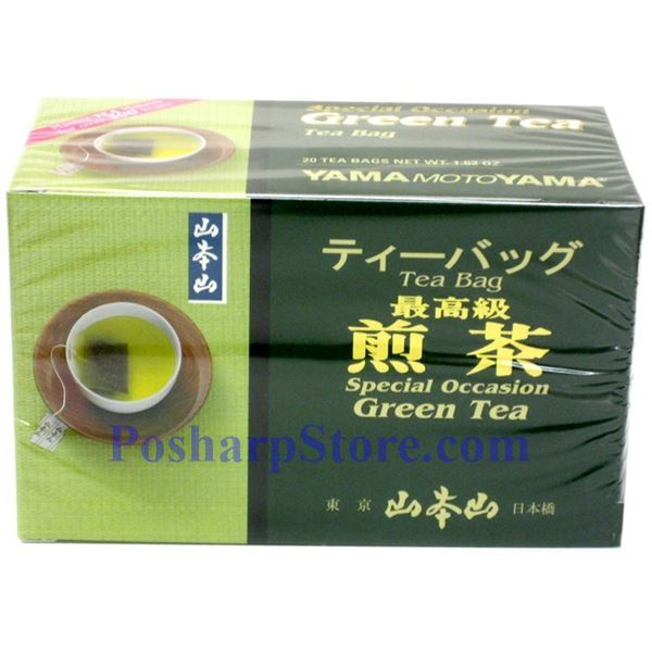 Picture for category Yama Moto Yama  Special Occassion  Green Tea 20 Teabags
