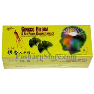 Picture of Prince of Peace Ginkgo Bilosa and Red Panax Ginseng Extract