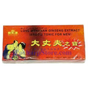 Picture of Royal King Love Mengman Ginseng Extract Erotic Tonic for Men
