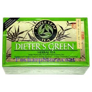 Picture of Triple Leaf Tea Dieter's Green Herbal Tea 20 Teabags