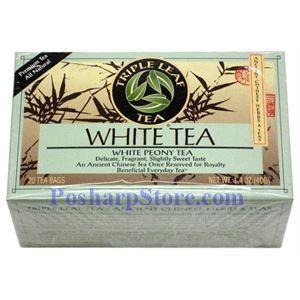 图片 三叶茶牌白茶 20茶袋