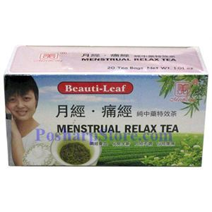 Picture of Beauti-Leaf  Menstrual Relax  Herbal Tea 20 Teabags