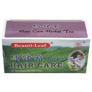 Picture of Beauti-Leaf Hair Care Herbal Tea 20 Teabags