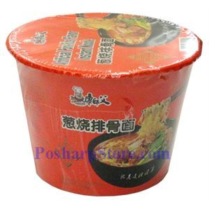 Picture of Kangshifu Artificial Pork Rib Flavor Instant Noodle