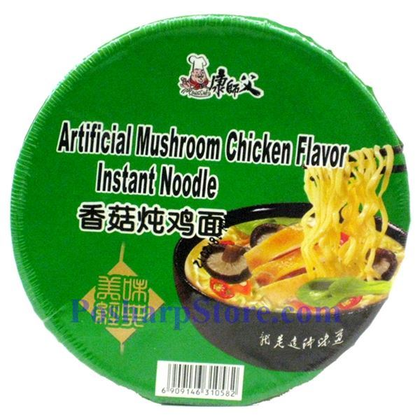Picture for category Kangshifu Artificial Mushroom Chichen Flavor Instant Noodle