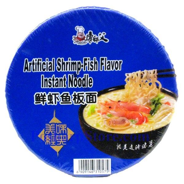 Picture for category Kangshifu Artificial Shrimp-Fish Flavor Instant Noodle