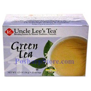 Picture of Uncle Lee's Tea Jasmine Green Tea 20 Teabags