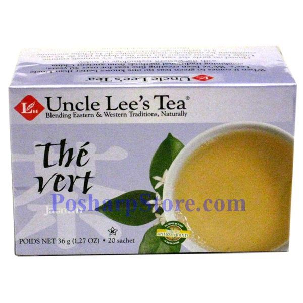 Picture for category Uncle Lee's Tea Jasmine Green Tea 20 Teabags