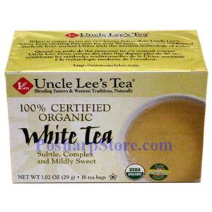 Picture of Uncle Lee's  Organic White Tea 20 Teabags