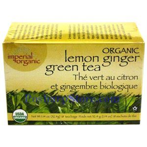 Picture of Imperial Organic Lemon Ginger Green Tea