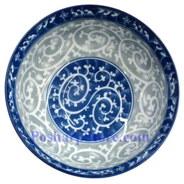 分类图片 白色陶瓷6英寸耙浪漩丝直口碗