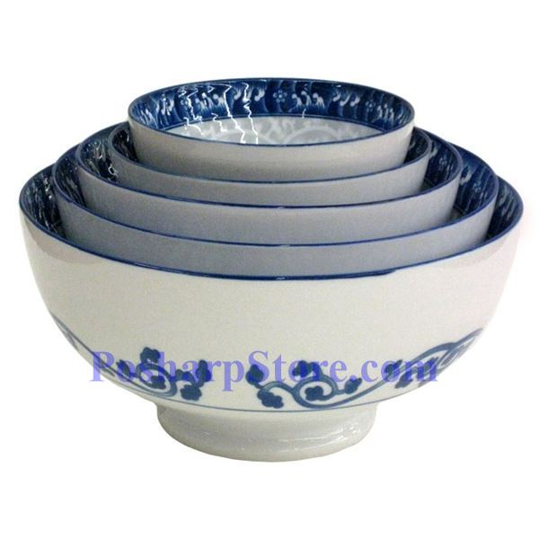 Picture for category Porcelain 4.5-Inch Filigree Swirl Rice Bowl