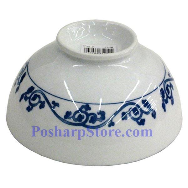 分类图片 白色陶瓷8英寸耙浪漩丝直口饭碗