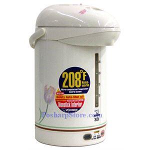 图片 象印CW-PZC30型热水瓶,白色