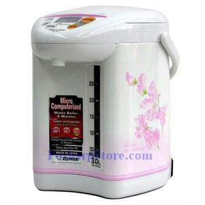 Picture of Zojirushi CD-JUC30 3-Liter Micom Water Boiler and Warmer, Sweet Pea