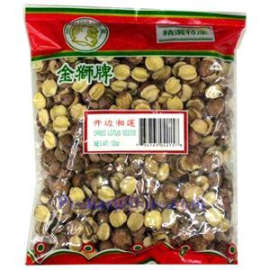Picture of Golden Lion Split Lotus Seeds 10 oz