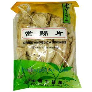 Picture of Bencao Dried Angelica Sinensis Slices (Danggui) 12 oz