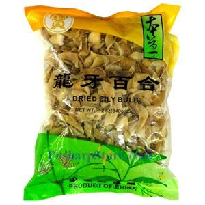 Picture of Bencao Dried Lily Bulb 12 oz