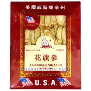 Picture of Flag American Wisconsin Ginseng Slice Deluxe Gift Pack