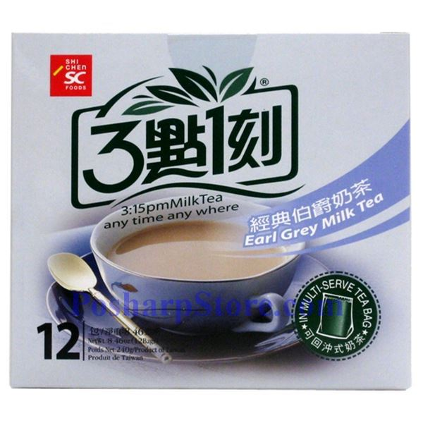 Picture for category 3:15PM Earl Grey Milk Tea 10 Bags 7.06(OZ)