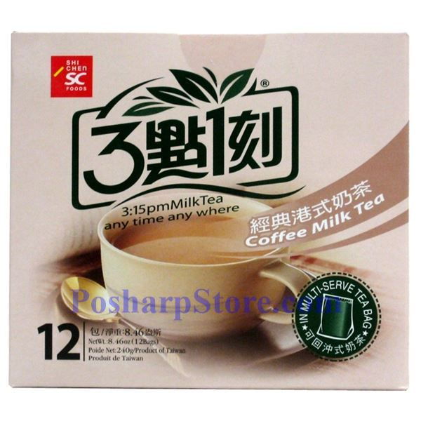Picture for category 3:15PM Coffee Milk Tea 10 Bags 7.06(OZ)