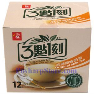 Picture of 3:15PM Instant Original Milk Tea 10 Bags 7.06(OZ)