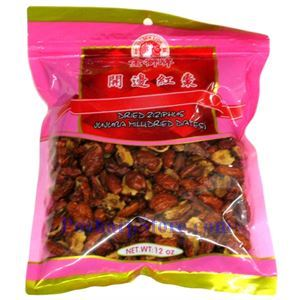 Picture of Golden Lion Dried  Ziziphus Jujube Without Seeds 12 Oz