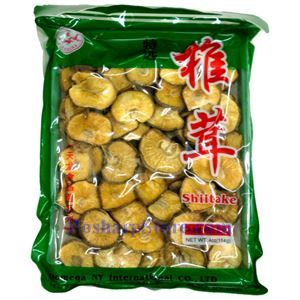 Picture of Domega (Easte Dragon) Dried Shiitake Mushrooms without Flower 4 oz