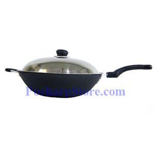 Picture of Myland 13.5 Inch Raw Iron Casting Non-Stick Frying Pan