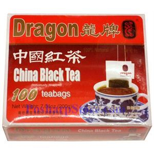 Picture of Dragon China Black Tea 100 Teabags