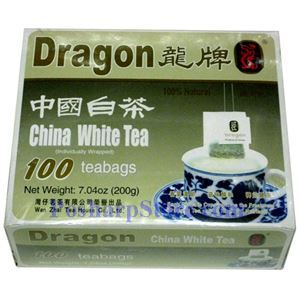 Picture of Dragon China White Tea 100 Teabags