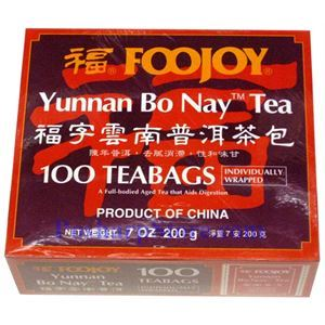 Picture of Foojoy  Yunnan Bo Nay Tea 100 Teabags