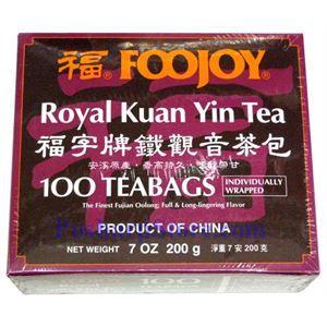 Picture of Foojoy  Royal Kuan Yin Tea(Tie Guan Yin Tea) 100 Teabags