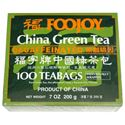 Picture of Foojoy China Green Tea (Decaffeinated)100 Teabags