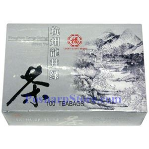 Picture of Lucky Eight Brand Lung Ching Green Tea 100 Teabags