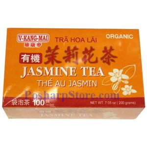 Picture of V-Kang Mai Organic Jasmine Tea 100 Teabags