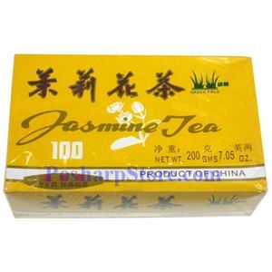 Picture of Green Field Jasmine Tea 100 Teabags