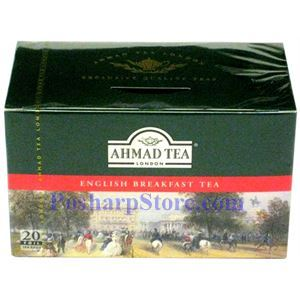 Picture of Ahmad English Breakfast Tea, 20 Teabags