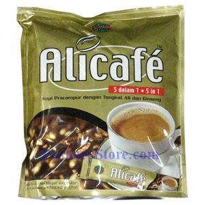 Picture of Alicafe 5 in 1 Ginseng Coffee with Tongkat Ali