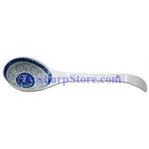 Picture of Porcelain 10-Inch Chinese Rice Spoon  JG239
