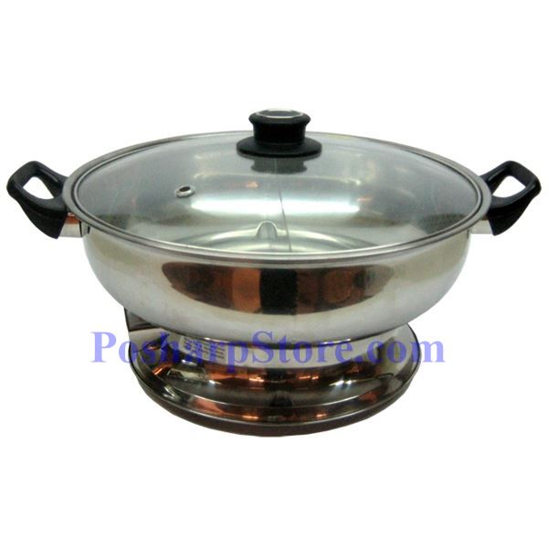 Myland Electric Cooktop Stainless Steel Twin Hot Pot